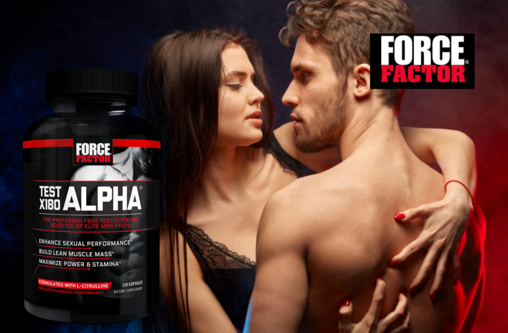 Force Factor, Test X180 Alpha, Testosterone Booster, 120 Capsules